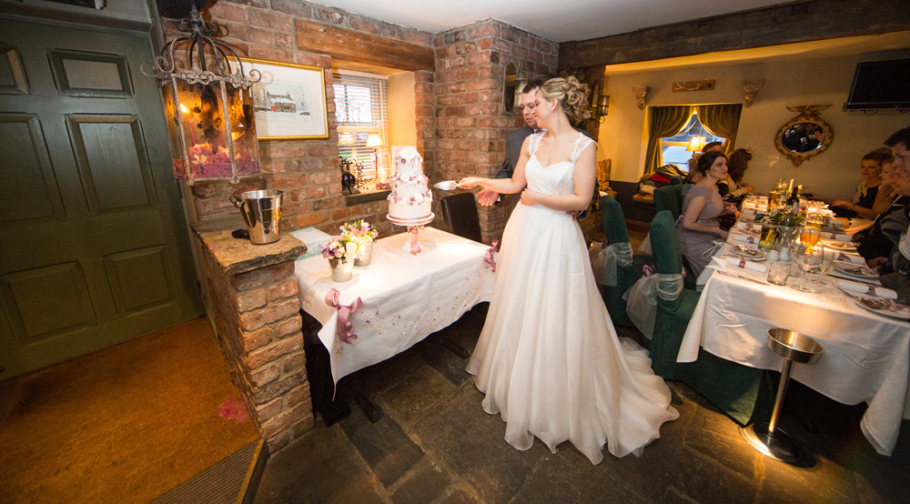 Wedding photographer The Timble Inn